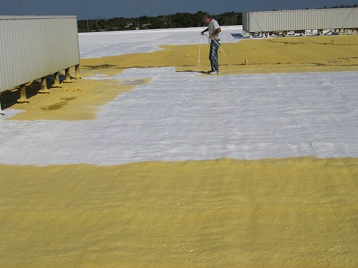 Polarhide Roof Over Foam Orlando Central Florida